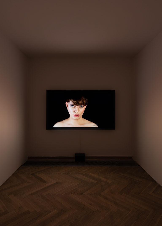 ansigt på video