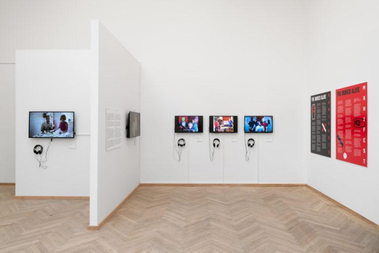 installationsbillede af videoværker