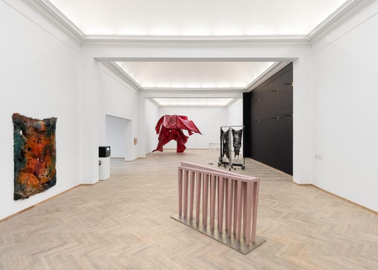 Installation shot, 'Heksejagt', Kunsthal Charlottenborg 2020. Photo: David Stjernholm